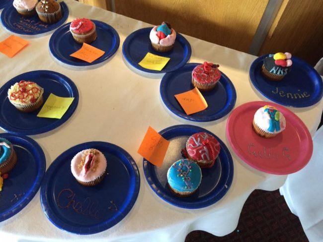 Fantastic creative cakes at MaMa does Great British Bake Off!